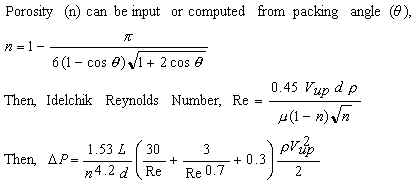 Idelchik equations