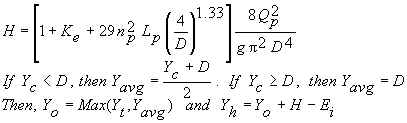 Full flow equation