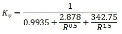 Pressure Relief Valve Equation Kv